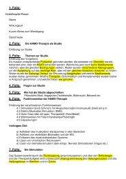 Vortrag HAMO 05.05.2011 - Komplementär Praxis Dr. hol. med. D ...