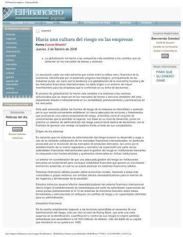 El Financiero impreso - Noticias del día - Universidad Anáhuac ...