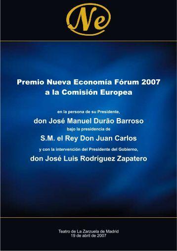 Intervenciones - Nueva Economía Fórum
