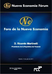 D. Ricardo Martinelli D. Ricardo Martinelli - Nueva Economía Fórum