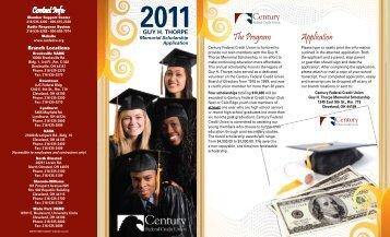 Application The Program - Century Federal Credit Union