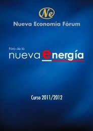 Foro de la Nueva Energía 2011-2012 - Nueva Economía Fórum