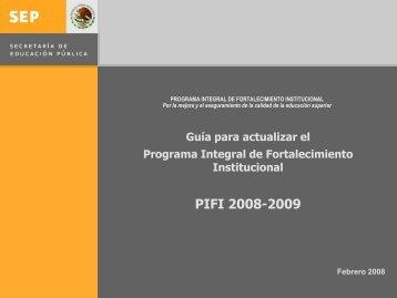 Octavo proceso para formular el Programa Integral de ...