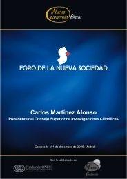 Carlos Martínez Alonso Presidente del Consejo Superior de ...