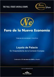 Loyola de Palacio - Nueva Economía Fórum