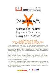 Dossier - Teatro del Astillero
