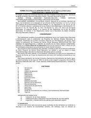 PAOT NORMA Oficial Mexicana NOM-006-CNA-1997, Fosas ...
