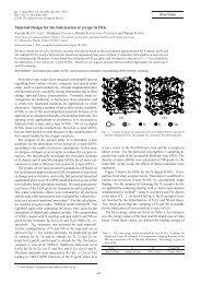 Material Design for the Fabrication of p-type ... - Osaka University