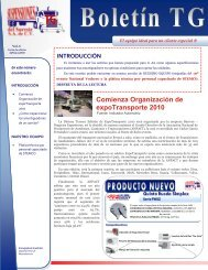 Comienza Organización de expoTransporte 2010 El equipo ideal ...