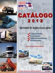 Catálogo de Productos y Servicios - Suspensiones TG del Sureste