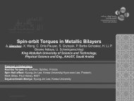 Spin-Orbit Torque in Magnetic Bilayers - Spintronics Theory Group