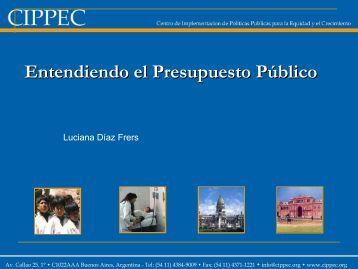 Entendiendo el Presupuesto Público - Cemupro
