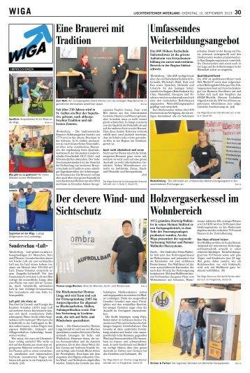 Holzvergaserkessel im Wohnbereich Der clevere Wind- und ... - WIGA