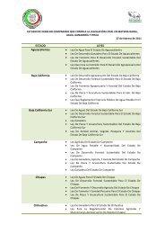 Estudio de Derecho Comparado que Compila la Legislación Local ...