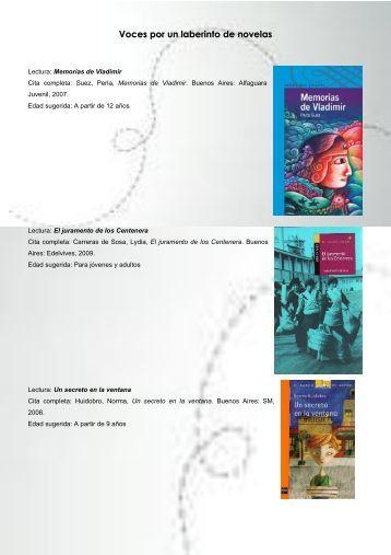 laberintos de novelas