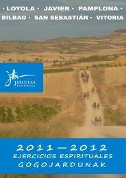 Ejercicios Provincia 2012 - Jesuitas de Loyola