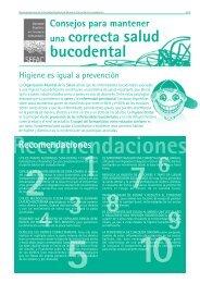 Consejos para mantener una correcta salud bucodental - SEFaC