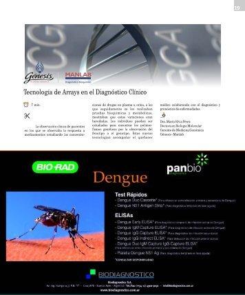 Tecnología de Arrays en el Diagnóstico Clínico - Revista Bioanalisis