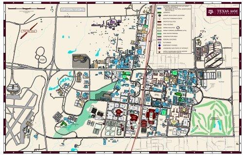 Map Of Texas Am University