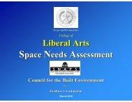 03/10/2010 - Office of Facilities Coordination - Texas A&M University