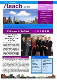 i teach belfast Welcome to Belfast - Belfast Education & Library Board