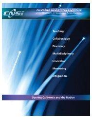 Download Brochure - California NanoSystems Institute - University ...