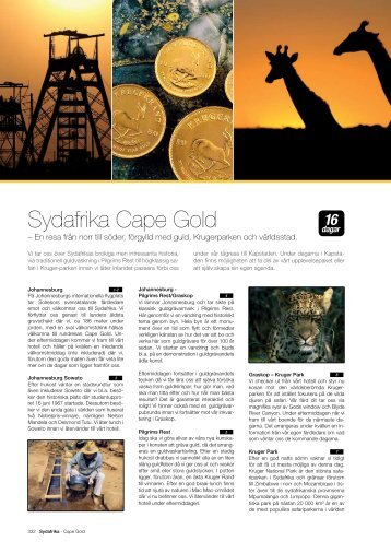 Sydafrika Cape Gold - Solresor