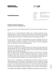 An alle LSR/SSR für Wien Werbung an Schulen; Maturareisen ...