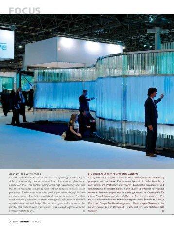 schott glass artista imera opalika rivuletta www schreiber. Black Bedroom Furniture Sets. Home Design Ideas