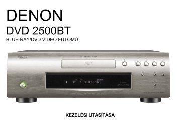 DVD 2500BT - Horn
