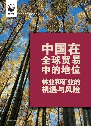中国在全球贸易中的地位 - WWF