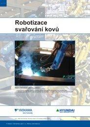 Robotizace svařování a řezání kovů - Hadyna