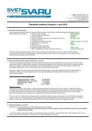 Tématické zaměření časopisu v roce 2012 - Hadyna