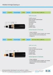Medium Voltage Catalogue - Kangxingcable.com