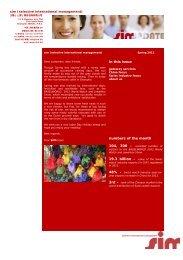 sim update - Spring 2012 (PDF) - sim - selective international ...
