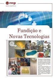Fundição e Novas Tecnologias - inegi - Universidade do Porto