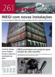 Inegi Notícias 26   2008 Jan-Mar - Universidade do Porto