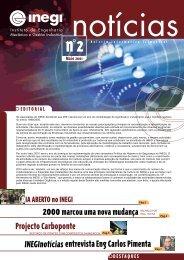 Inegi Notícias 2   2001 Mai 2001 - Universidade do Porto
