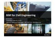Autodesk BIM for Civil Engineering