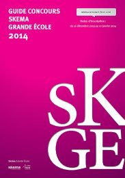 Concours BCE-2013.indd - Concours SKEMA