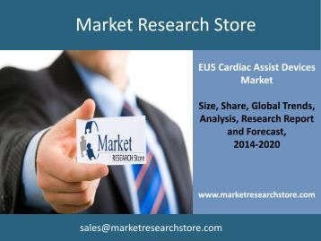 EU5 Cardiac Assist Devices Market Outlook to 2020 Market Trends, Size, Demand, Cost, Opportunity Analysis