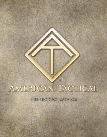 2012 Catalog v7 PDF - American Tactical Imports