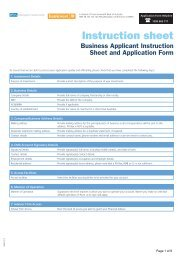 Cash Management Account Application Form - Business