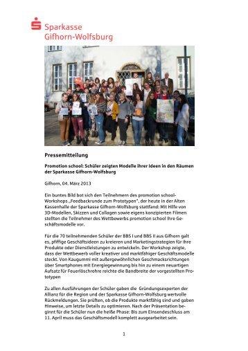 20130304_PM_promotion school_mitBild - Sparkasse Gifhorn ...