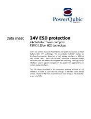1 8V ESD protection - Sofics