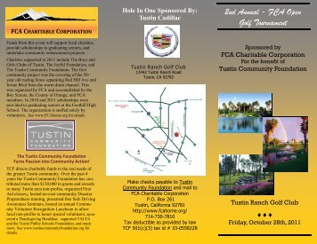 Announcement and Registration Form - Foothill Communities ...
