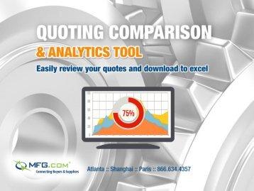 Quote Comparison Report Quote Comparison Report - MFG.com