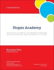 Hopes Academy