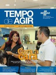 Março 2010 | Revista Tempo de Agir 1 - Sebrae