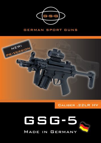 Made in Germany - German Sport Guns GmbH